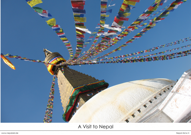 Buddha Stupa_A3