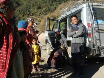 Nepal Aid_Krankentransport